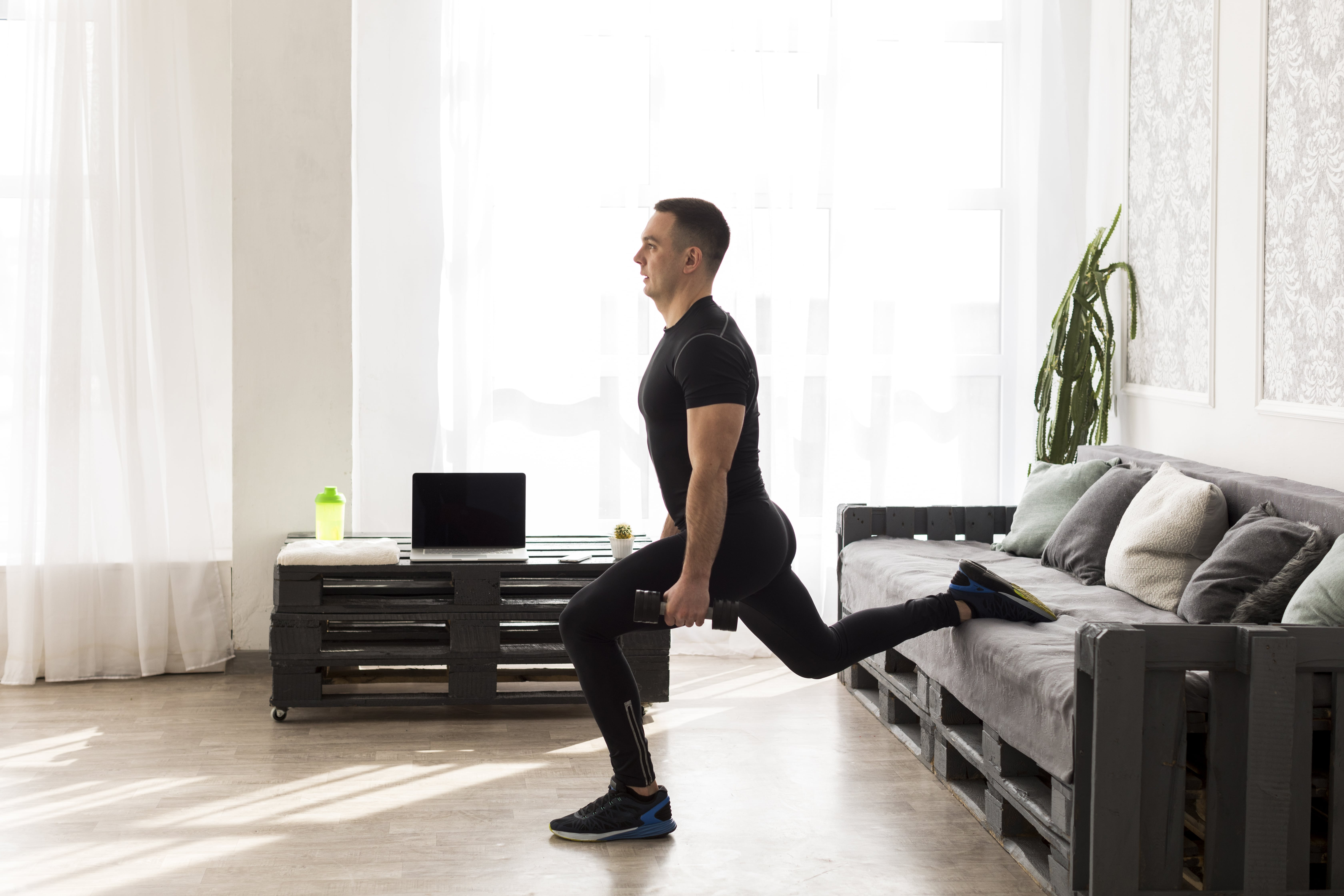 Beginners' free workout plans at home